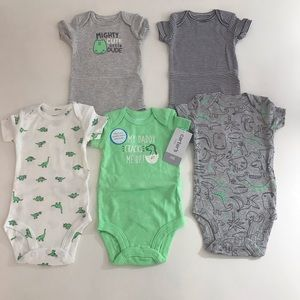 Carter's baby clothing,Set5Piece,sizeNB,6m,9,12,18